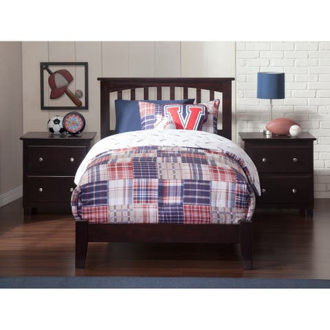 Mission Twin Traditional Bed in Espresso
