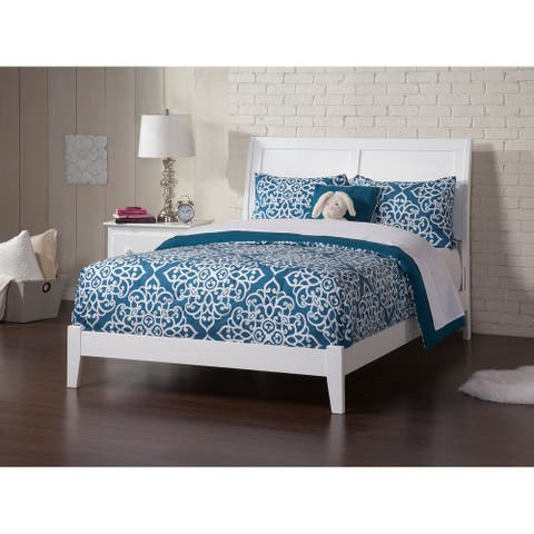 Portland Full Traditional Bed in White