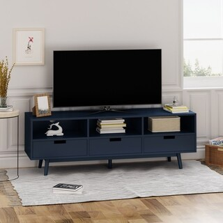 Ossian Modern Wooden TV Stand by Christopher Knight Home