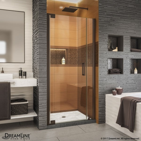 Shop DreamLine Elegance-LS 32 3/4 - 34 3/4 in. W x 72 in. H ...