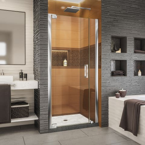 "DreamLine Elegance-LS 32 3/4 - 34 3/4 in. W x 72 in. H Frameless Pivot Shower Door - 32.75"" - 34.75"" W"
