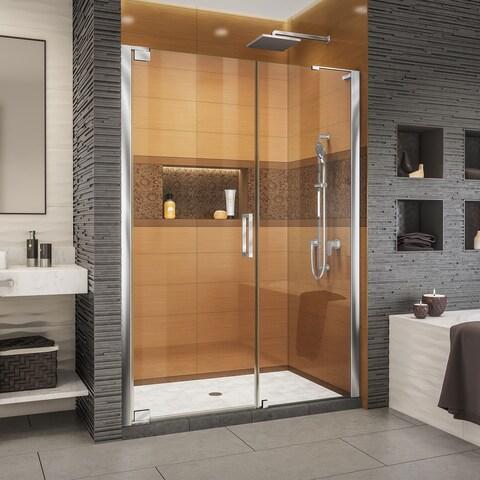 DreamLine Elegance-LS 57 3/4 - 59 3/4 in. W x 72 in. H Frameless Pivot Shower Door
