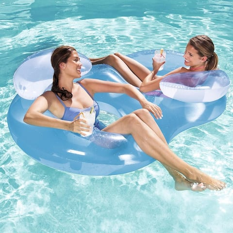 Bestway Double Ring Float Swimming Pool Lounge