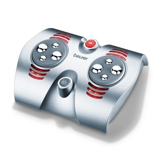 Beurer Shiatsu Foot Massager with 8 Rotating Massage Nodules and Optional Heat Function