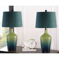 Abbyson Sea Glass Ombre 28-inch Table Lamp (Set Of 2)