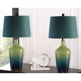Abbyson Sea Glass Ombre 28-inch Table Lamp (Set Of 2)