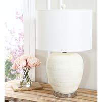 Abbyson Delphina Ceramic 25-inch Table Lamp
