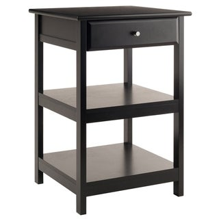 Porch & Den Bertha Black Printer Stand