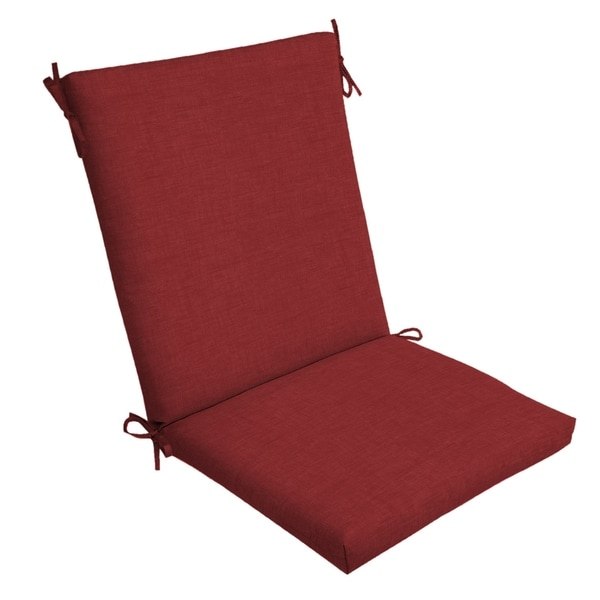 Arden Selections Ruby Leala Texture Outdoor Chair Cushion - 44 in L x 20 in W x 3.5 in H. Opens flyout.