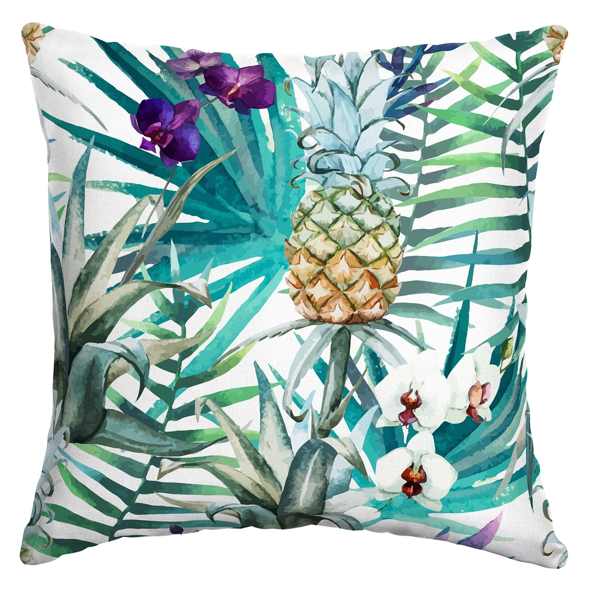 Arden Selections Ameera Tropical Outdoor Square Pillow 70145030064