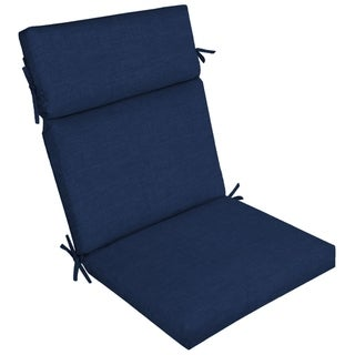 Link to Arden Selections Sapphire Leala Outdoor Chair Cushion - 44 in L x 21 in W x 4.5 in H Similar Items in Outdoor Cushions & Pillows