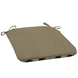 Arden Selections Sandstone Leala Texture Outdoor Seat Cushion (2-Pack)
