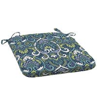 Arden Selections Sapphire Aurora Damask Outdoor Seat Cushion (2-Pack)
