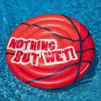 Swimline Basketball Extra Large Island Swimming Pool Float