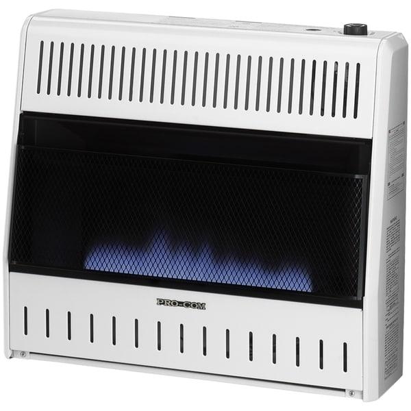 ProCom Recon Dual Fuel Ventless Blue Flame Heater - 30,000 BTU, Model# R-MNSD300TBA
