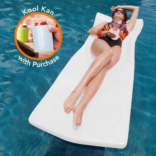 Pool Mate XX-Large Foam Mattress Swimming Pool Float with bonus Kool Kan