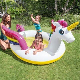 Intex Mystic Unicorn Spray Pool - 113 x 76 x 65 inches