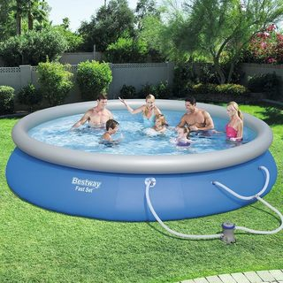 Buy Inflatable Pools Online at Overstock | Our Best Swimming Pool ...