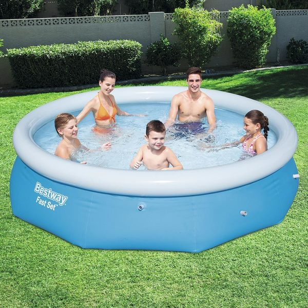 Bestway Fast Set Swimming Pool 10 X 30 Free Shipping Today 21134365
