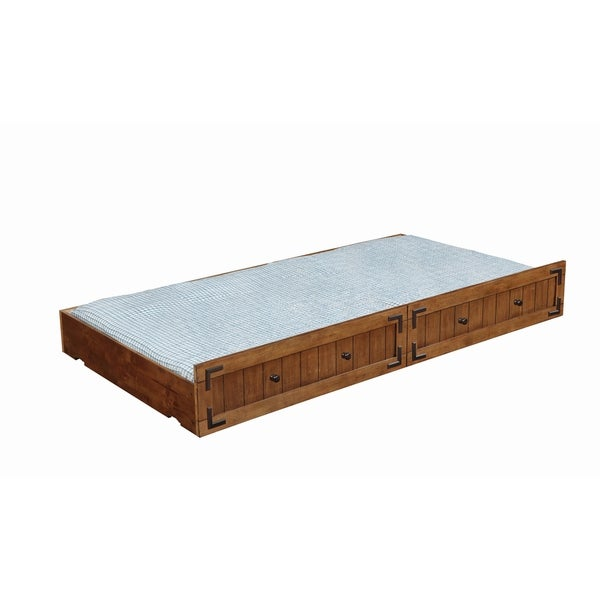 Coronado Rustic Honey Underbed Storage Bed