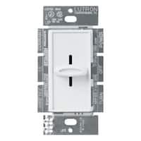 Lutron  Skylark  8.3 amps 1000 watts Slide  Dimmer Switch  White