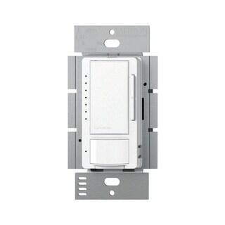 Lutron Maestro 1.25 amps 150 watts Three-Way Dimmer Switch White