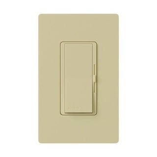 Lutron Diva 1.25 amps 150 watts Three-Way Dimmer Switch Ivory