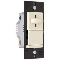 Pass & Seymour  600 watts Slide  Dimmer Switch  Light Almond