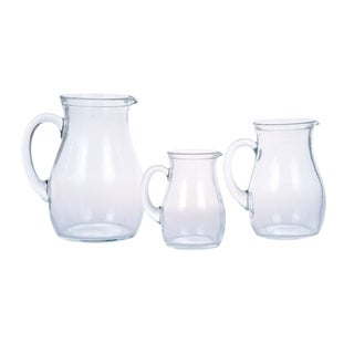 Roxy Pitcher, Assorted Set of 3 (Small, Medium & Large)