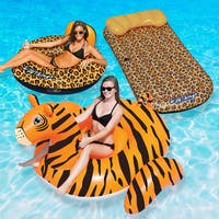 Swimline Wildthings Animal Kingdom Combo Pack, Cheetah and Tiger