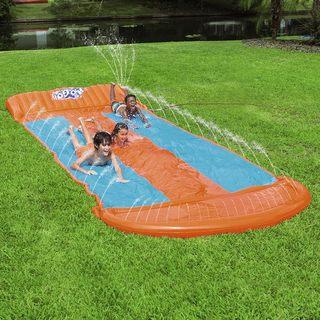 Bestway Triple Water Slide for Backyard Fun