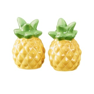Season Pineapple Salt and Pepper Shakers, Set of 2