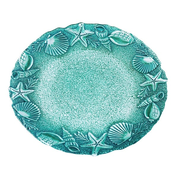 Amalfi Round Serving Platter, 13 inches