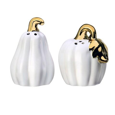 Season S&P 2PC Set Pumpkin White Gold