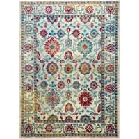 """Serena Collection Distressed Ivory-Multi Area Rug by Home Dynamix - 5'3"""" x 7'2"""""""