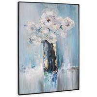 """""""Arrangement"""" Hand Painted Floral Arrangement on Canvas"""