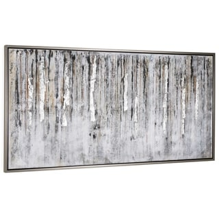 """Nature of Sound"" Hand Painted Abstract Wall Art on Canvas"