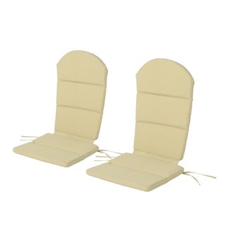 Malibu Outdoor Adirondack Chair Cushion (Set of 2) by Christopher Knight Home