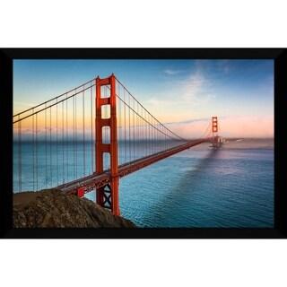 """Golden Gate, San Francisco"" Framed Acrylic Wall Art"