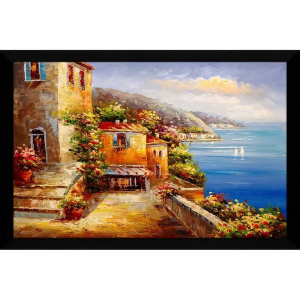 Shop Colorful Sea Iii Framed Acrylic Wall Art Free
