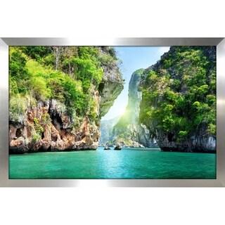 """Koh Samui, Thailand"" Framed Acrylic Wall Art"