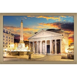 """Pantheon, Rome"" Framed Acrylic Wall Art"