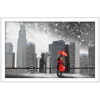 """Winter Romance"" Framed Acrylic Wall Art (3 options available)"