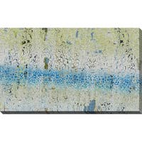 """""""Illusion Blue"""" Stretched Canvas Wall Art"""