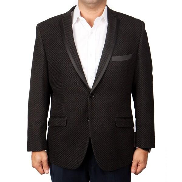 Mens Blazer Slim Fit Solid Sports Coat Blazer Jacket featuring Notch Lapel