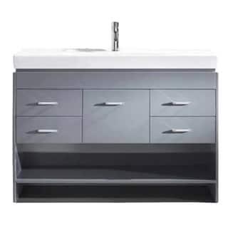 Buy Grey Bathroom Vanities Vanity Cabinets Online At Overstockcom - Blue gray bathroom vanity