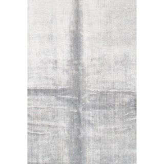 Pasargad NY Modern Bamboo Silk Hand-Knotted Area Rug - 10' X 14'9