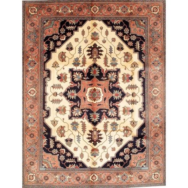 "Pasargad NY Original Persian Tabriz Wool Rug - 8'11"" X 11'8"""