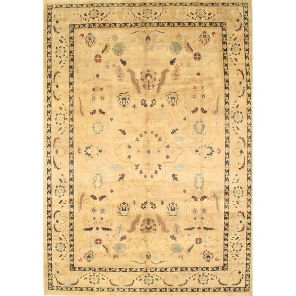 Pasargad NY Ziegler Sultanabad Hand Knotted Rug - 10′ × 14′