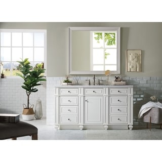 "Bristol 60"" Single Vanity, Cottage White"